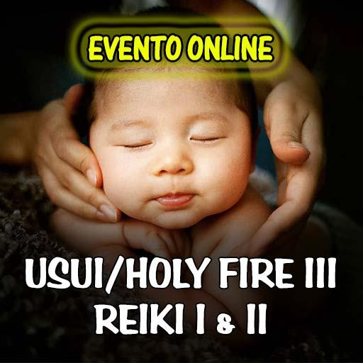 Usui/Holy Fire III Reiki I & II